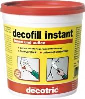 decotric® decofill Instantspachtel 1 kg in der Plastikdose für innen und außen